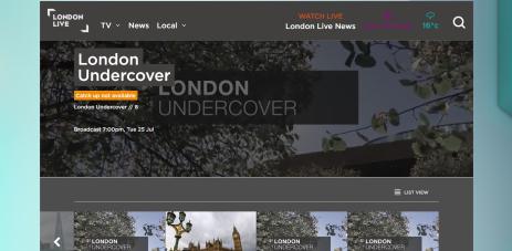London Undercover episode 8 Knife Crime