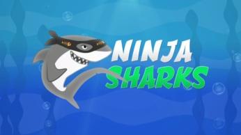 ninja sharks (kids) - title graphic still
